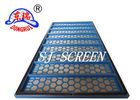 1220 X 720mm Size Rock Shale Shaker Screen With Carbon Steel Frame Material