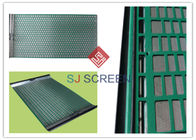 FLC 500 Wave Typed Shaker Screen Mesh / Mi Swaco Shaker Screens 1050 X 695 Mm