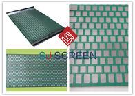 FLC 500 Wave Typed DurableShaker Screen Mesh High Utilization Rate Green Color