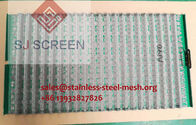 Metal Shale Shaker Screen Steel Screen Mesh API-140 F / 570x1070mm