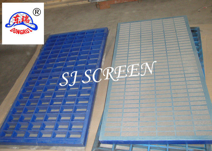 SS 316 Mongoose Shale Shaker Screen 2 / 3 Layers Grey Color Long Work Life