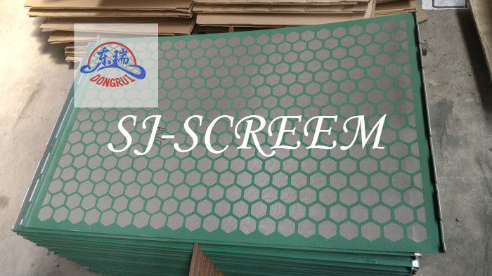 Oil Drilling Fluid Dorrick Shaker Screens With SS304 SS316 Mesh Material