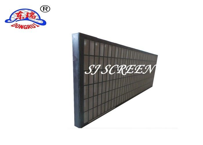 Solid Control Equipment Oil Vibrating Sieving Mesh Two / Three Stainless Steel Layers