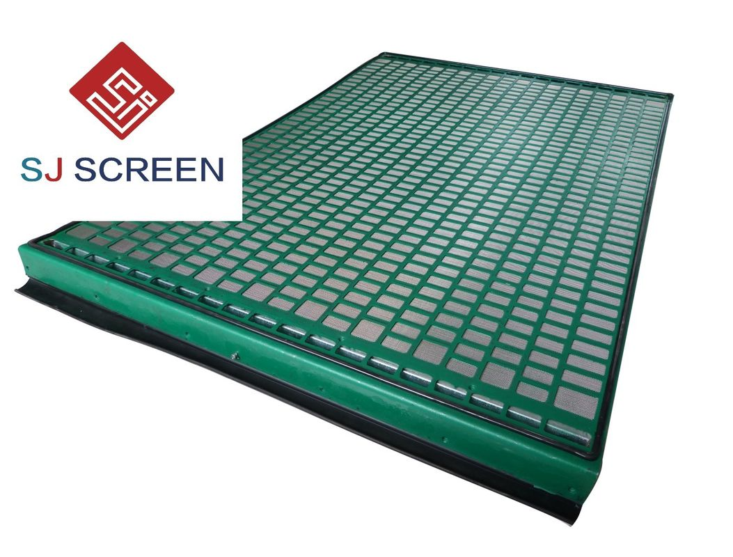 Green Precision Shale Shaker Screen Manufacturers 20-325 Mesh 1 Year Warranty