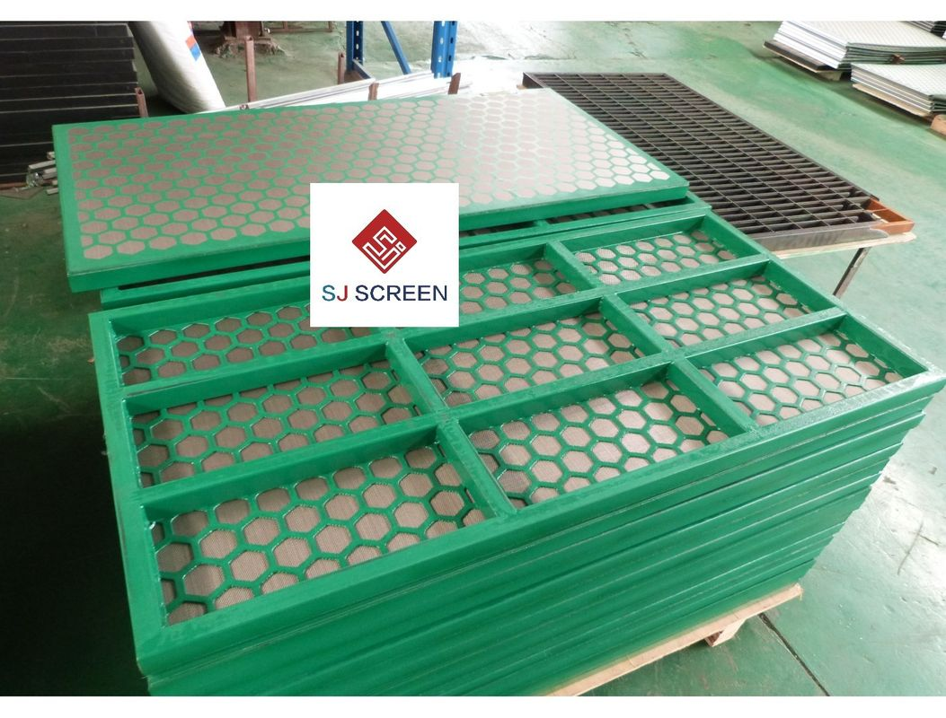 Custom Industrial Sieves And Screens Lightweight API RP 13C Approved