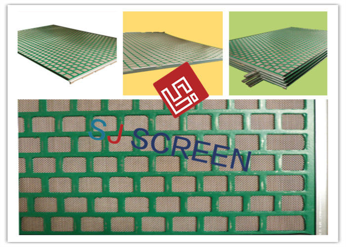 20-325 Mesh Shaker Screens Manufacturers 2-3 Layers 1053x697mm Size