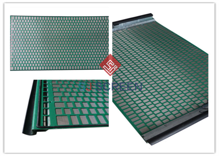 FLC 500 Wave Typed Shale Shaker Screen Precision For Soild Control