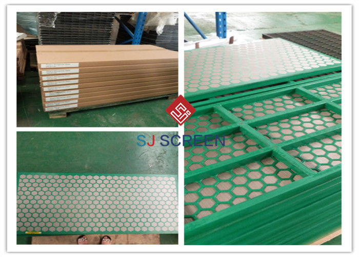 Composite Materials Oil Filter Screen / Oilfield Drilling Mud Shale Shaker