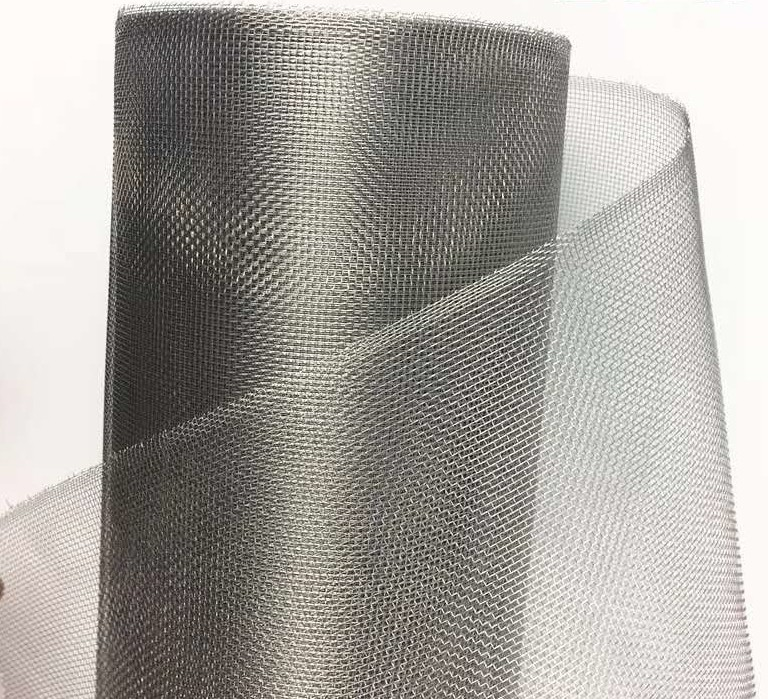 Plain Weave 304 Stainless Steel window screen Insect Netting 22 Mesh